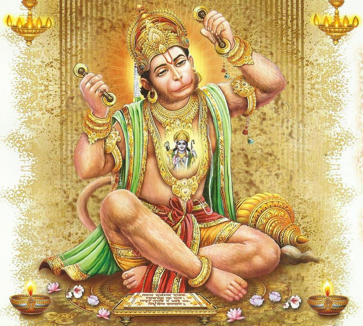 Mantras of Lord Hanuman- The incarnation of Lord Shiva