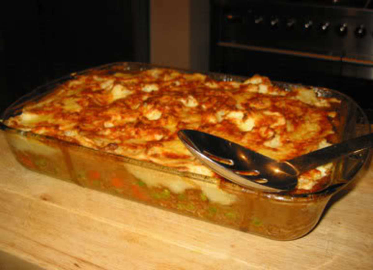 Shepherd's or Cottage Pie