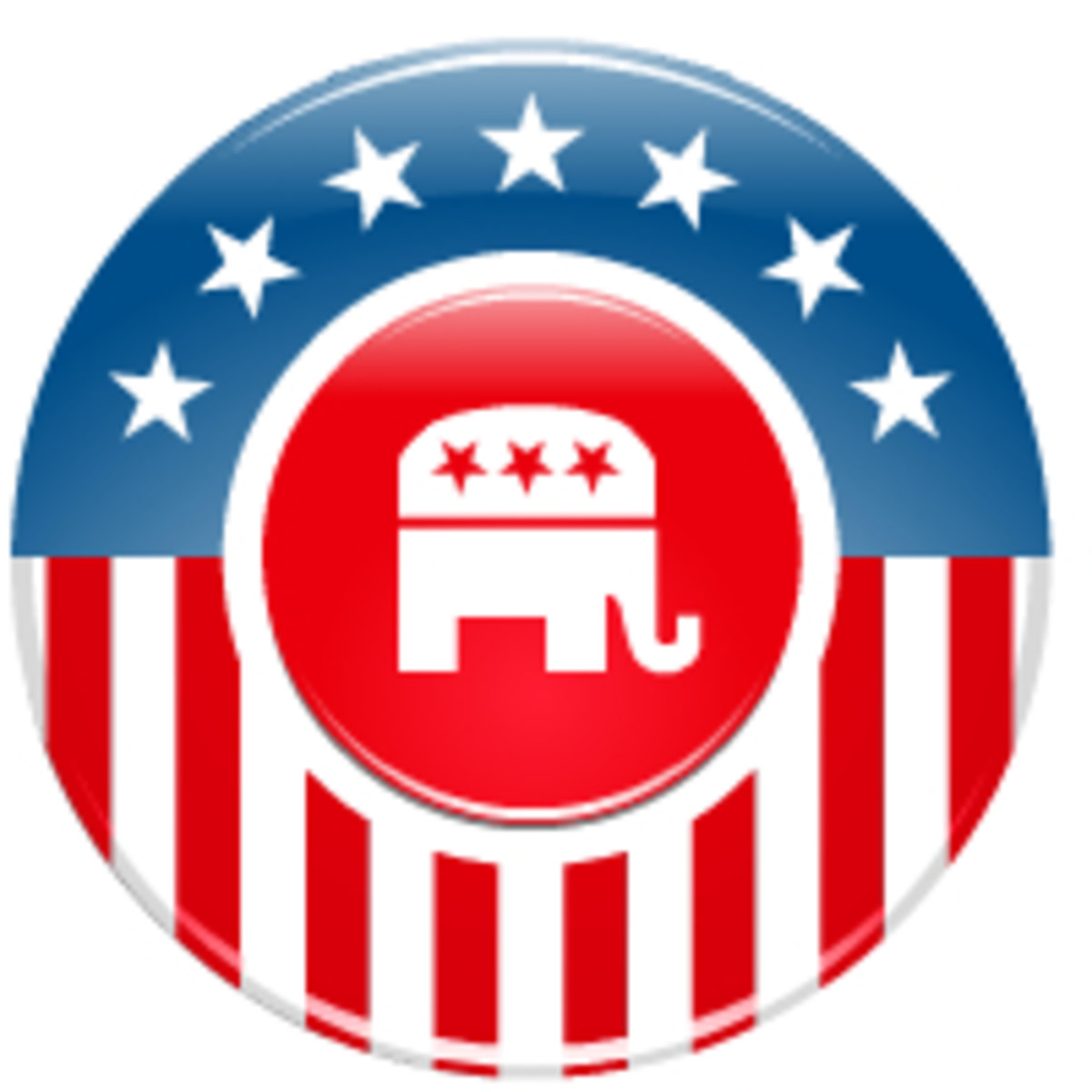 Election clip art: Republican elephant