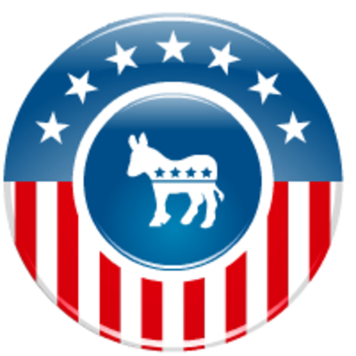 Election clip art: Democratic donkey