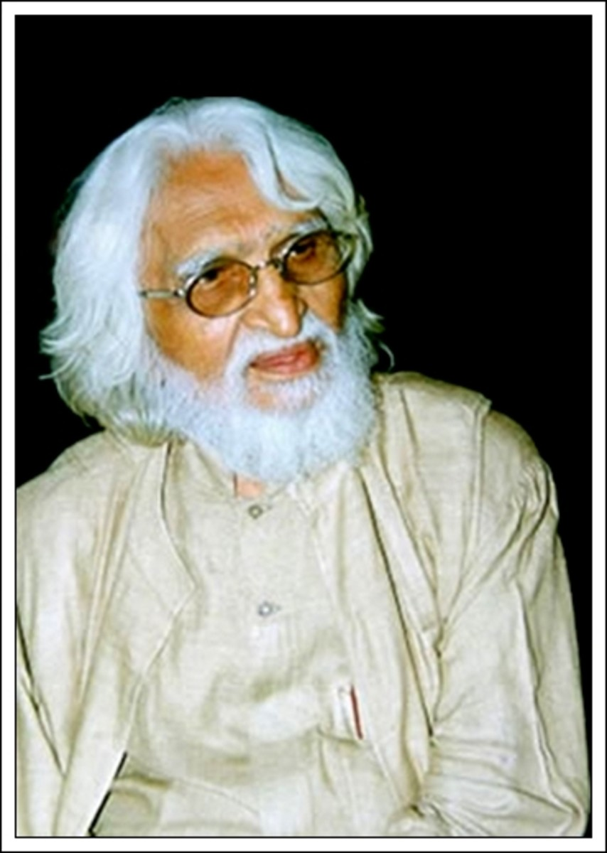 M F Husain and his Controversial Nude Paintings of Hindu Goddesses