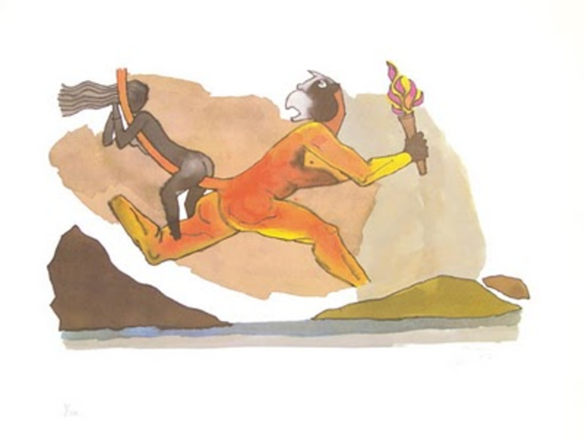 Hanuman and Sita Mata