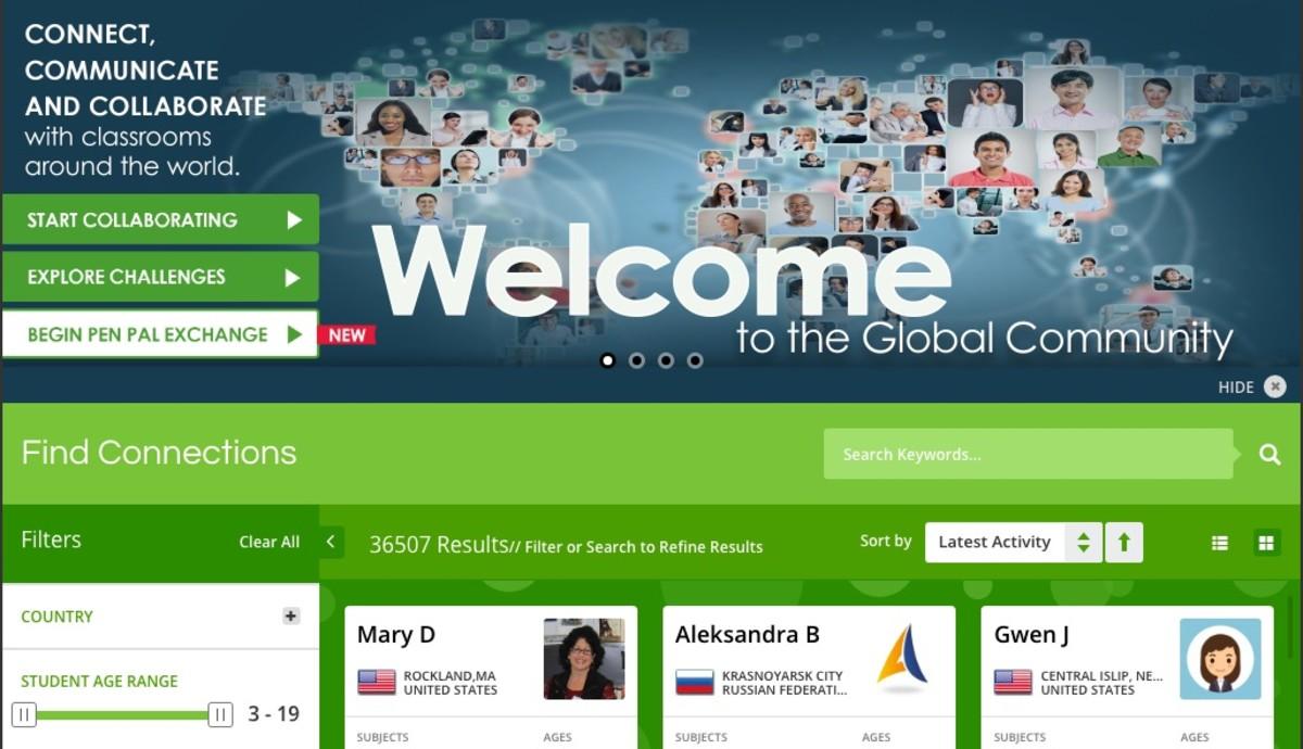ePals Global Community Website