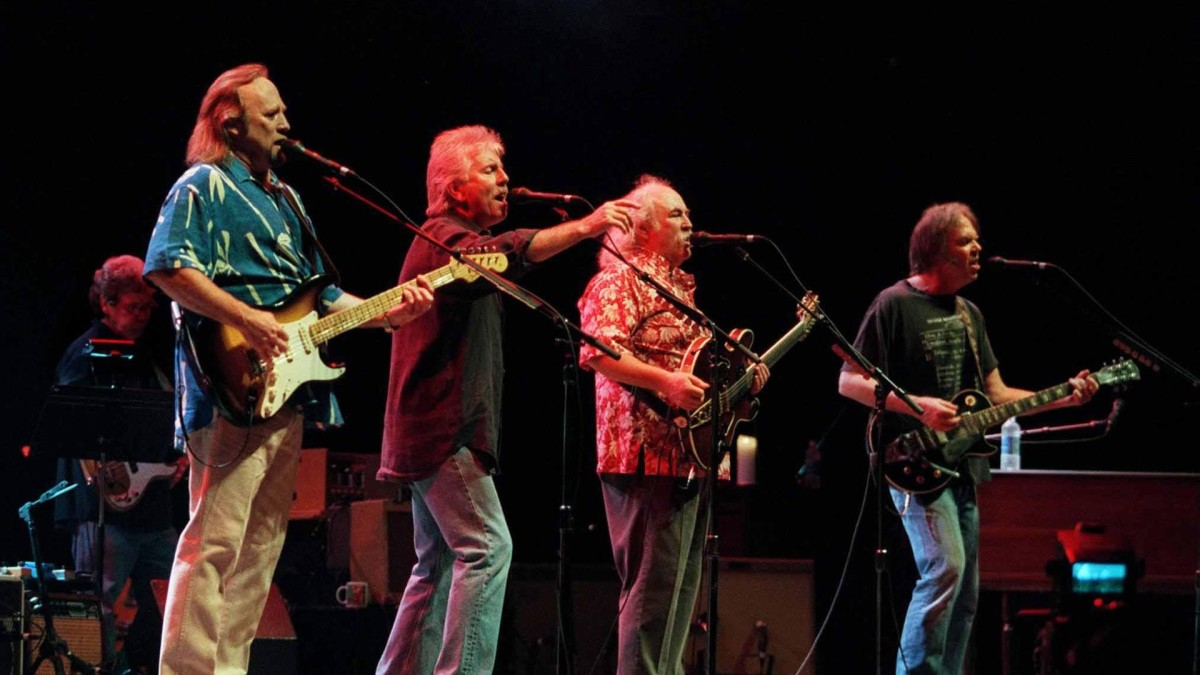 Crosby, Stills, Nash and Young: The Mount Rushmore of Rock