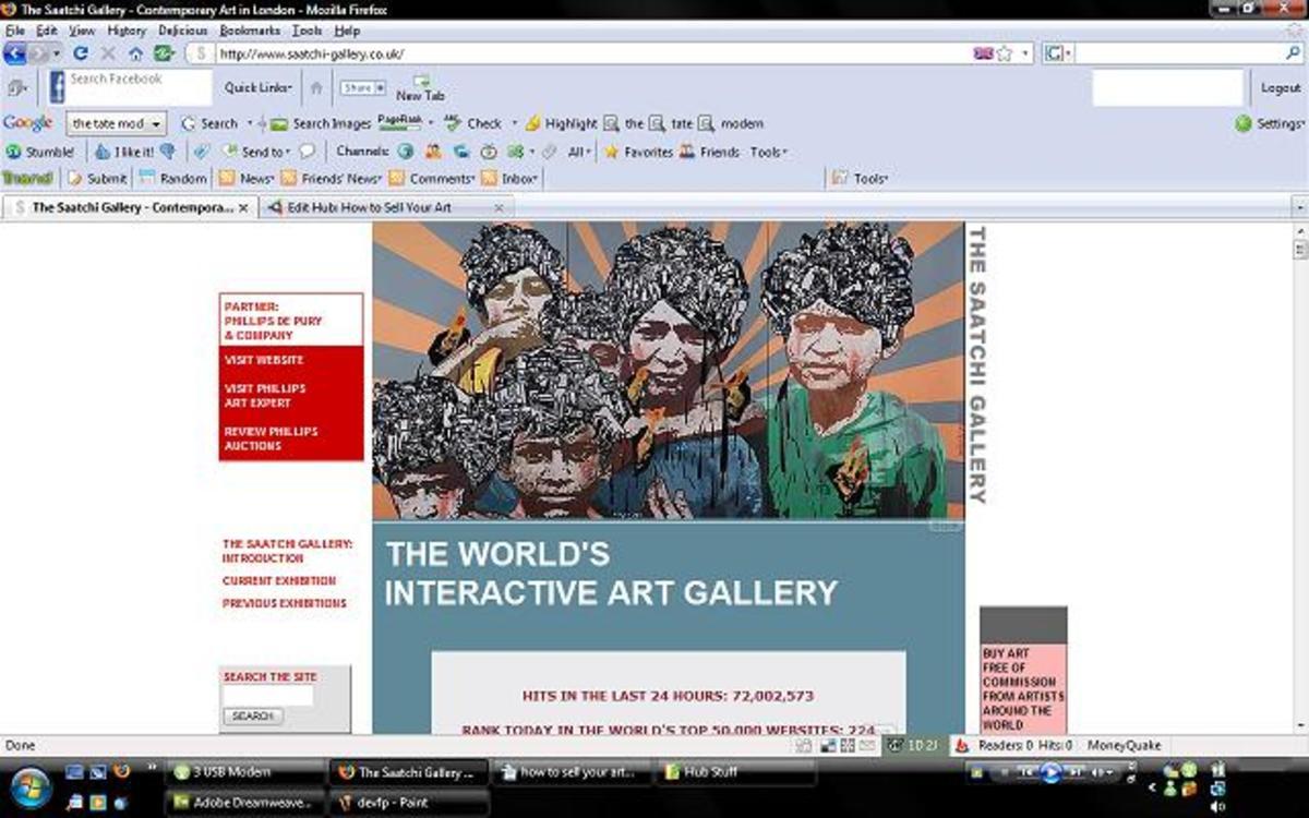"""""""Saatchi Gallery"""""""