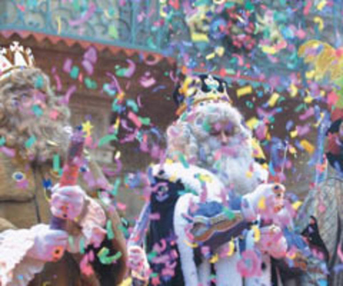 Cabalgata de los Reyes Magos, Barcelona Spain