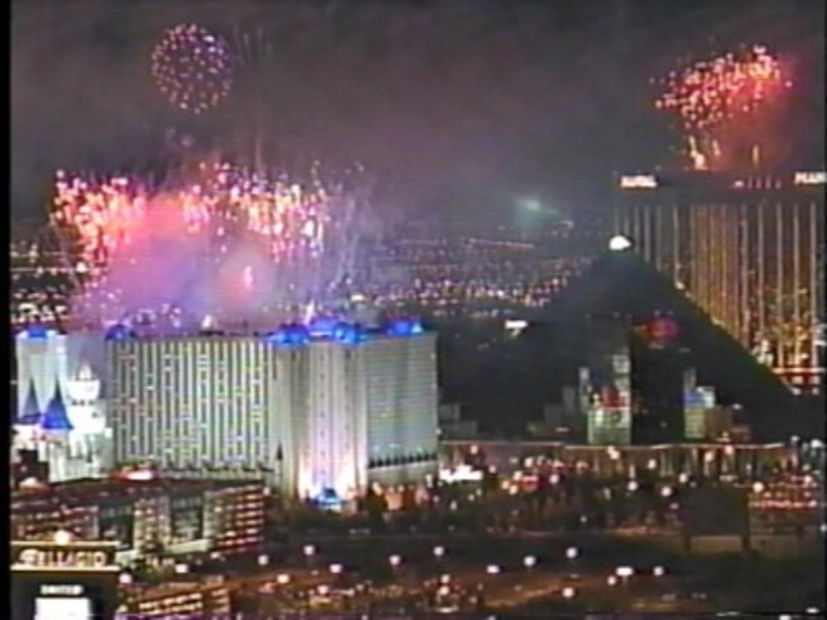 Las Vegas New Years Eve Fireworks