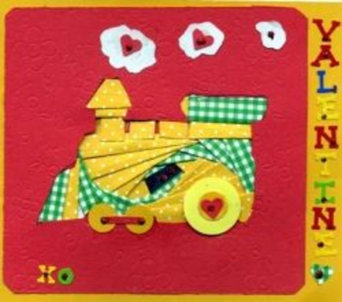 Child's Card with Iris Folded Train