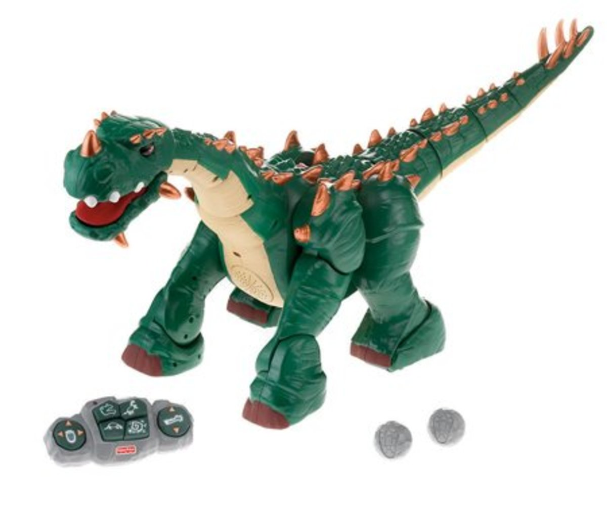 ImagiNext: Spike the Ultra Dinosaur by Fisher Price was new in June 2008, and is now appearing in stores and online.