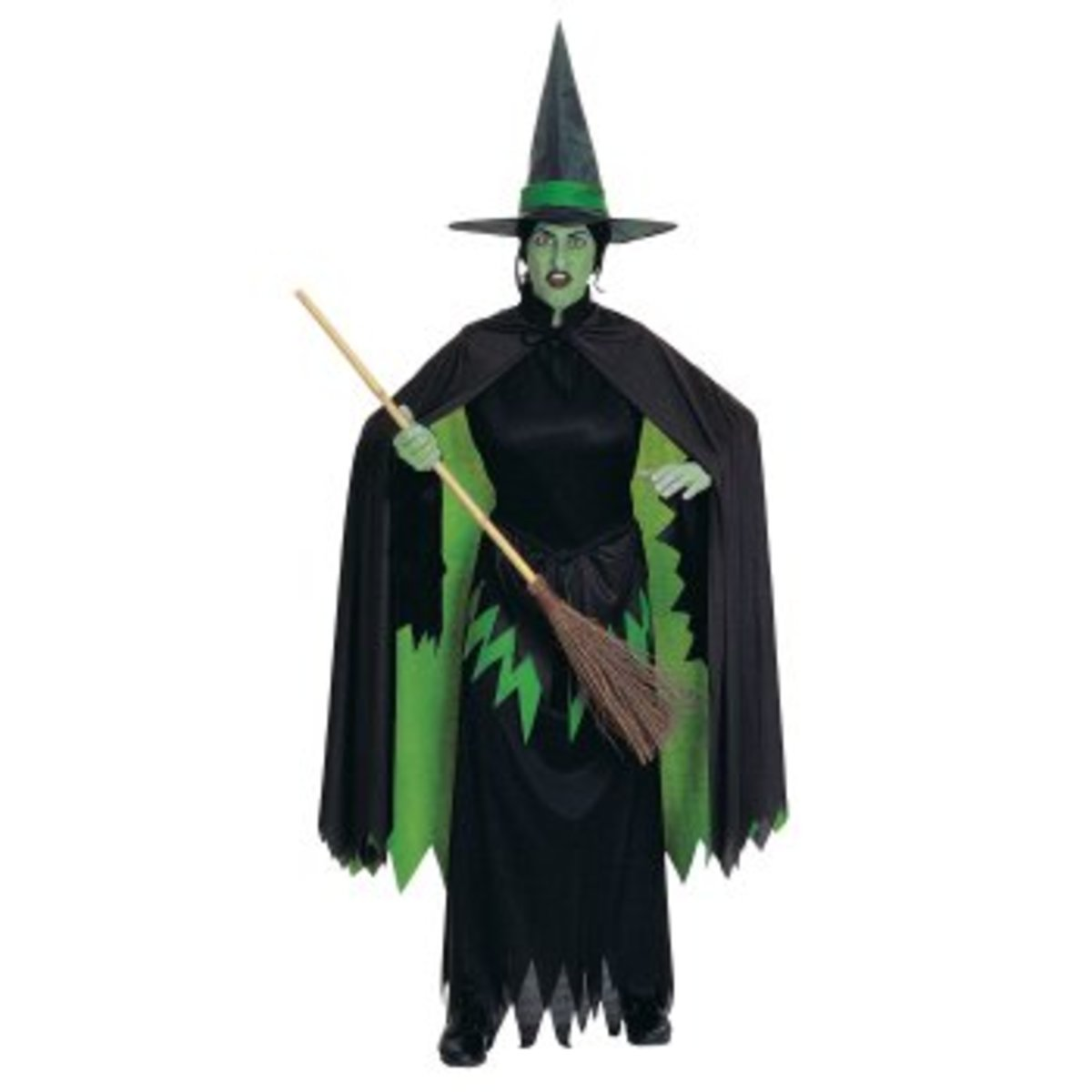 Wizard Of Oz Wicked Witch Halloween Costume