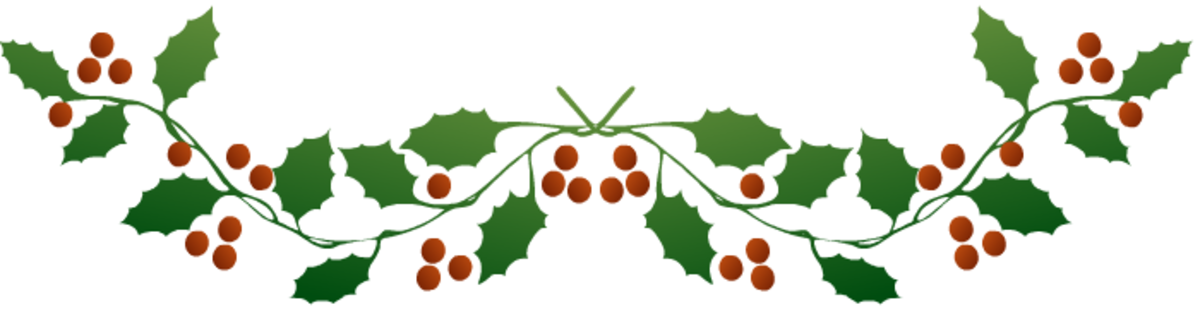 Botton holly border one.