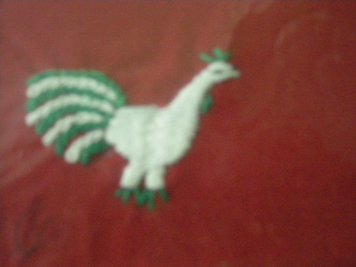 cockerel motif