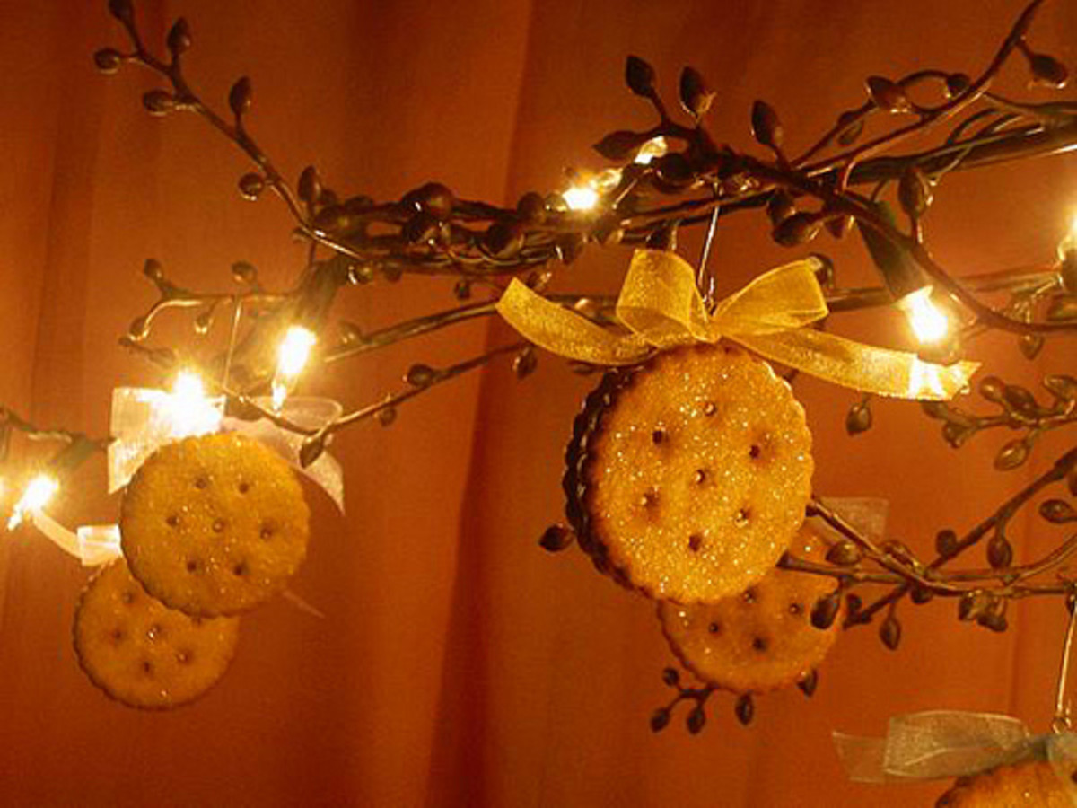 Christmas sugar cookie ornament