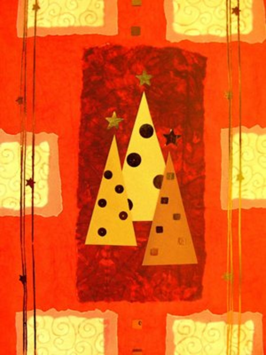 Christmas card craft for kids