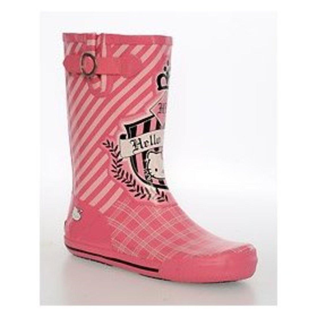 Hello Kitty Chooka rain boots