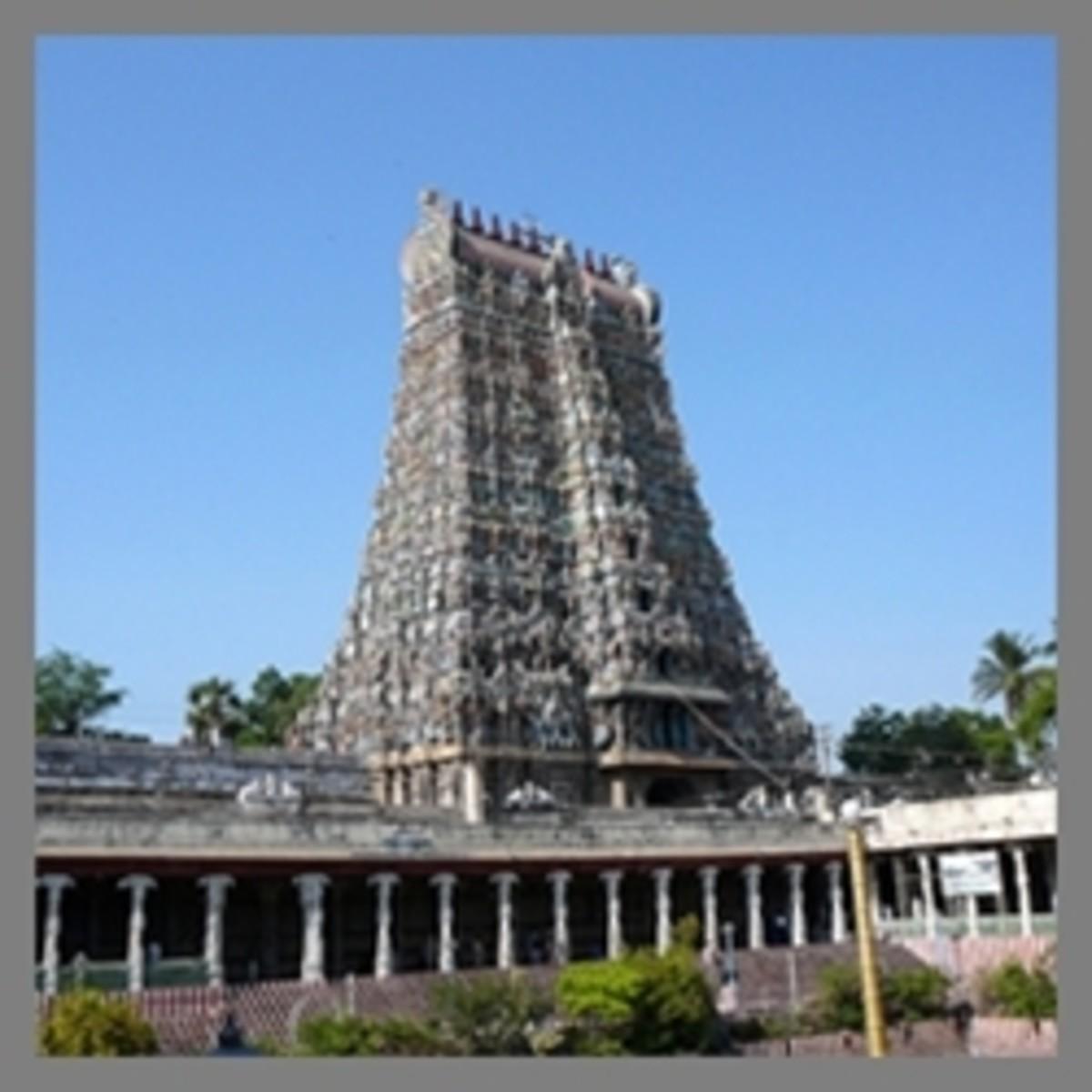 Madurai Meenakshi Temple. Tamil Sangam