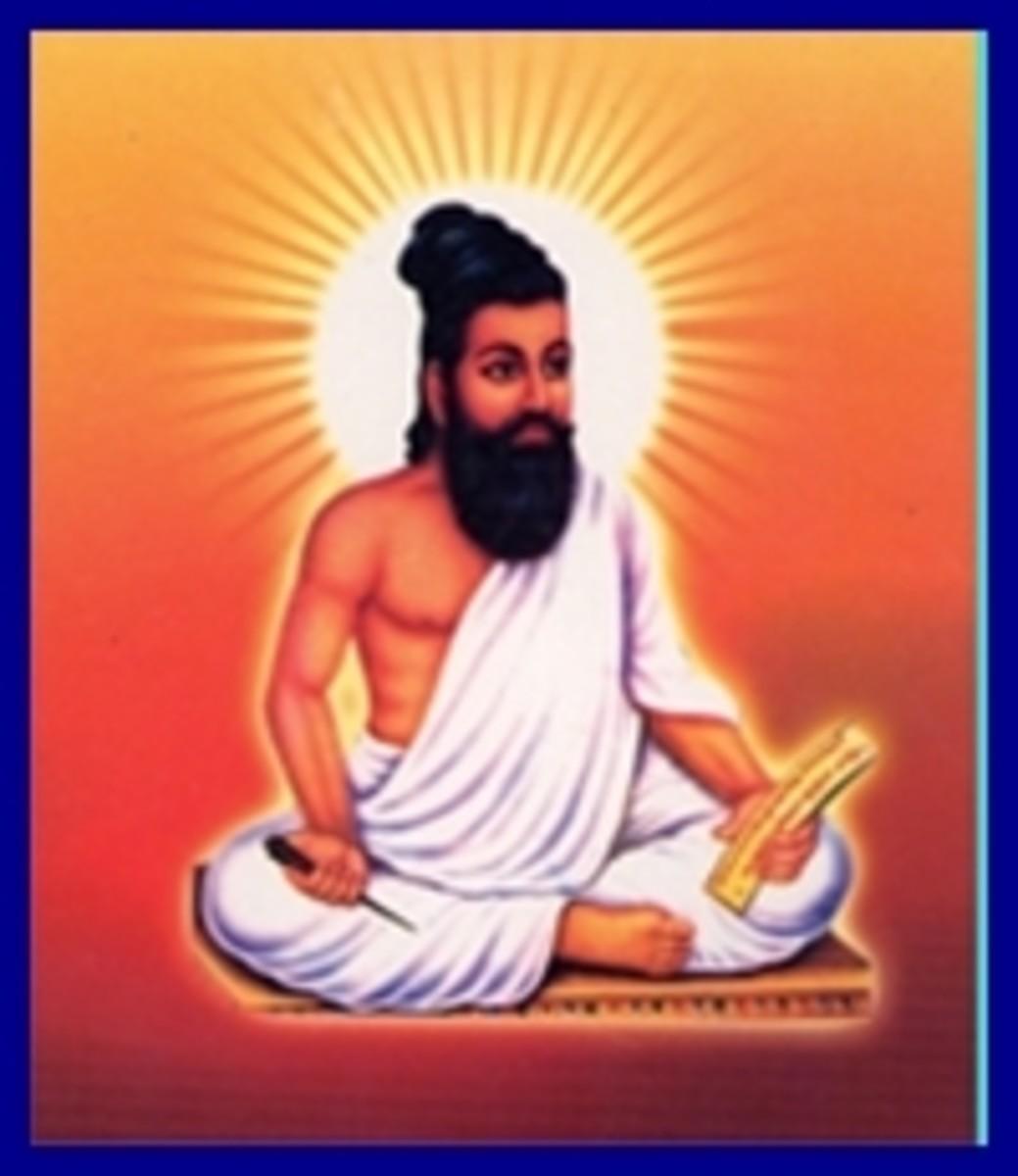 Thiruvalluvar Author of Thirukural