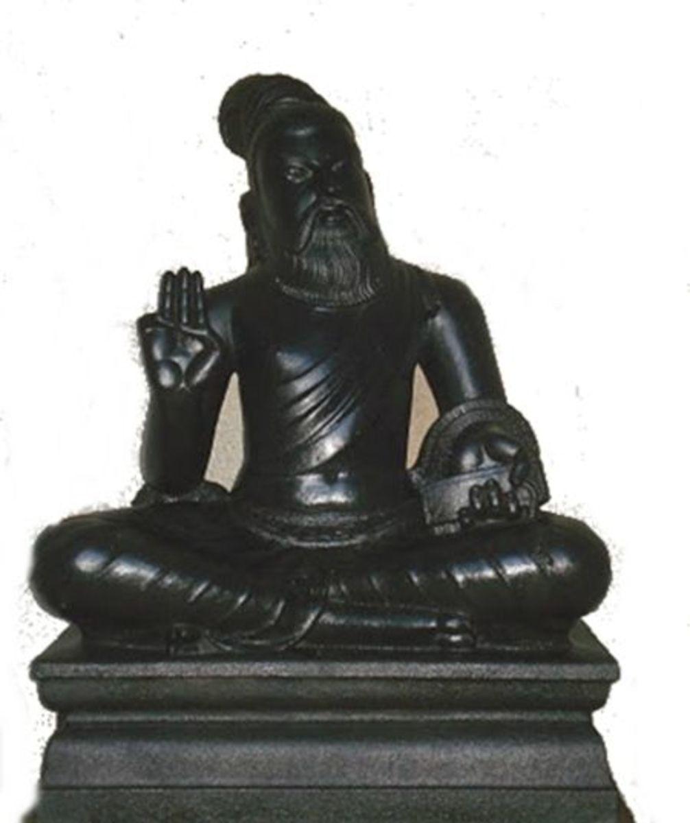 Thiruvalluvar  (Author of Thirukural) Statue