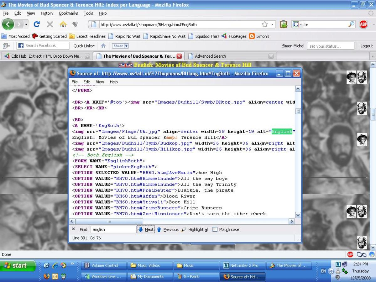 html-drop-down-tip