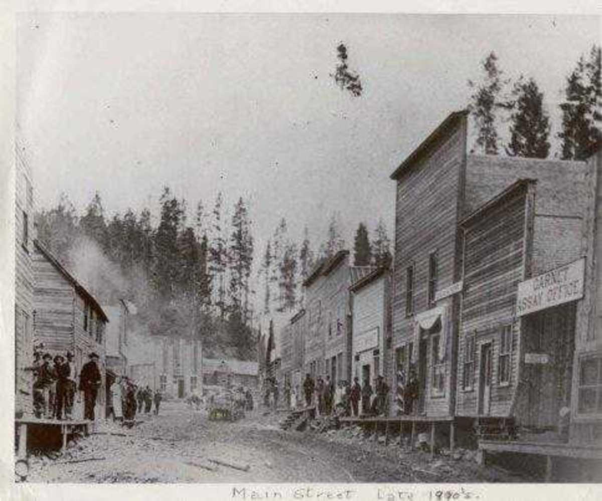 Missoula Montana 1890's