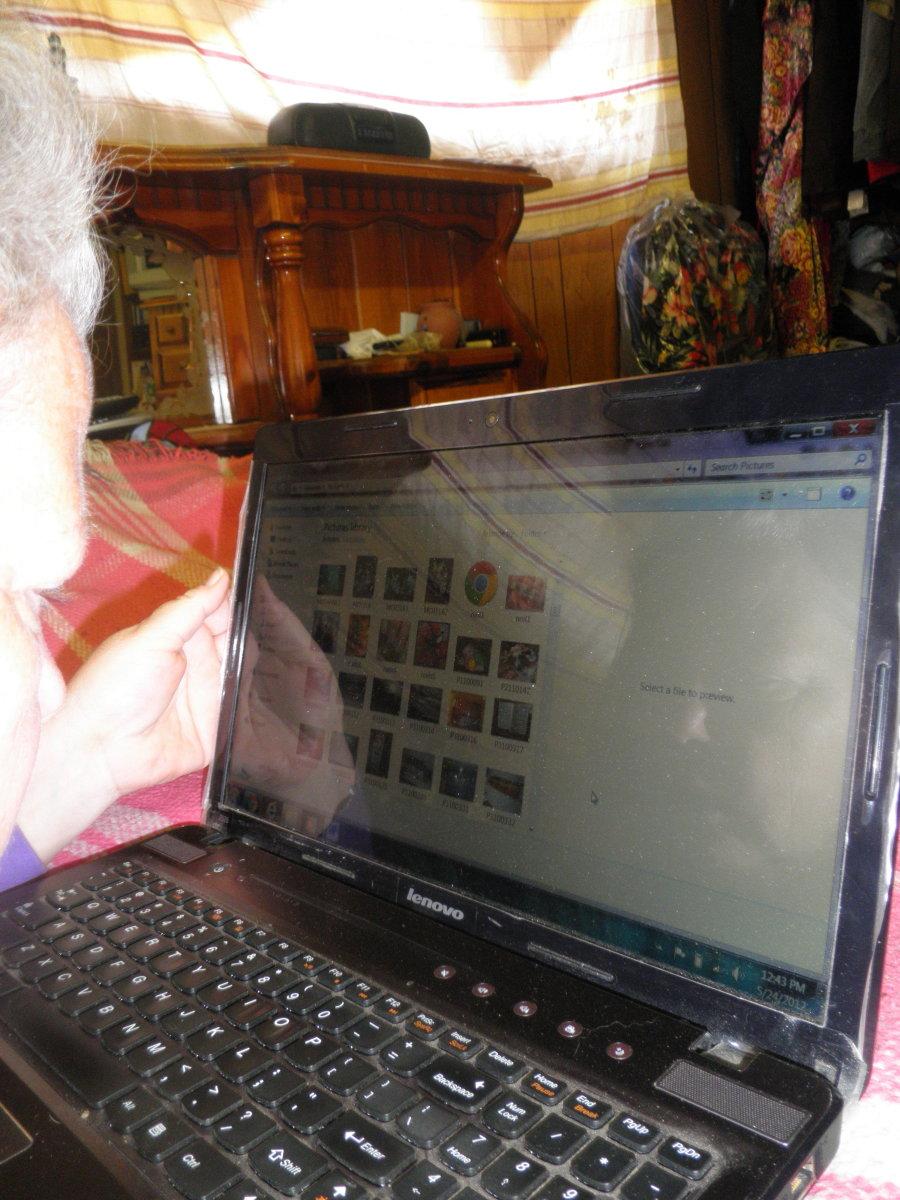 The authors Lenovo laptop - Z series
