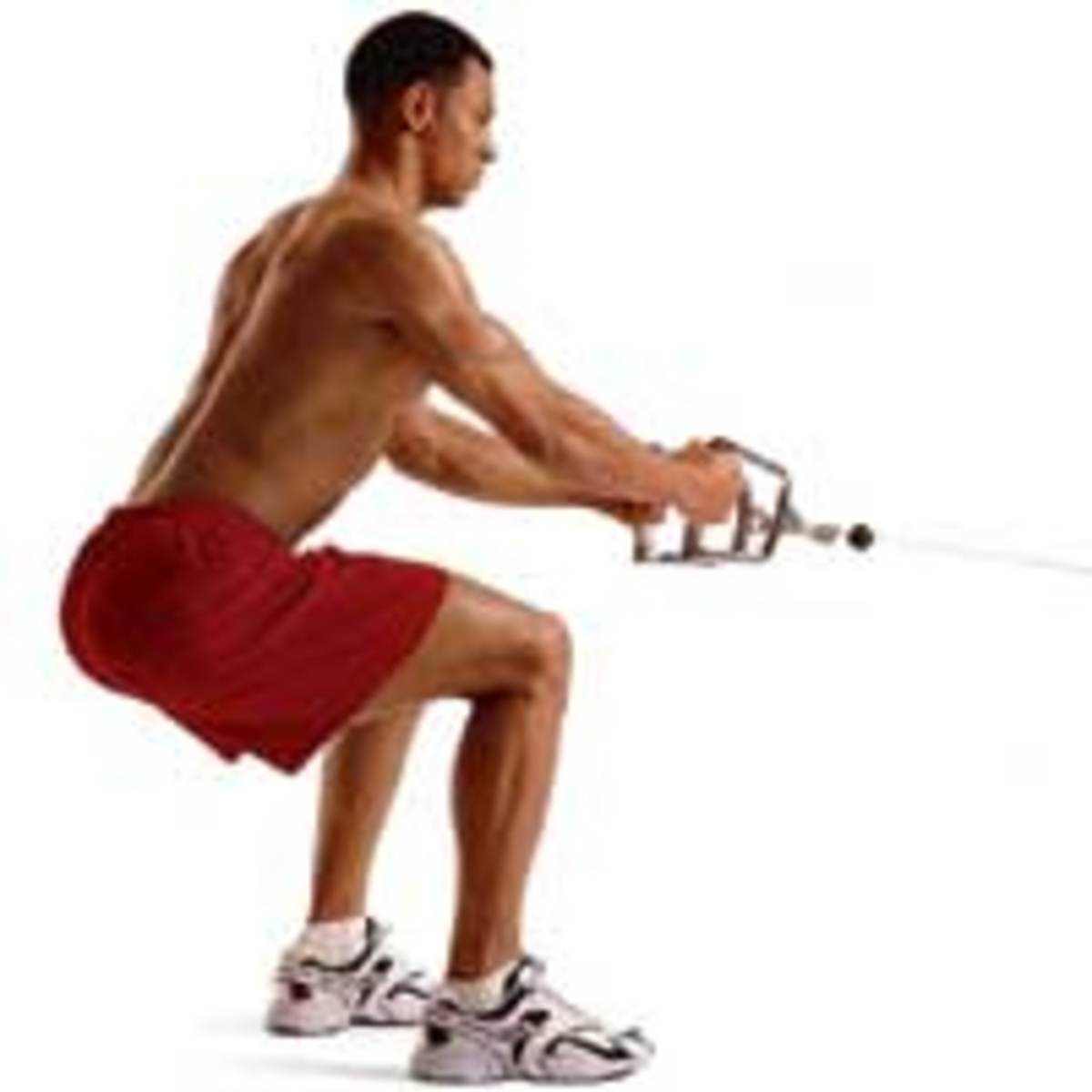 How To Do Squatting Cable Rows
