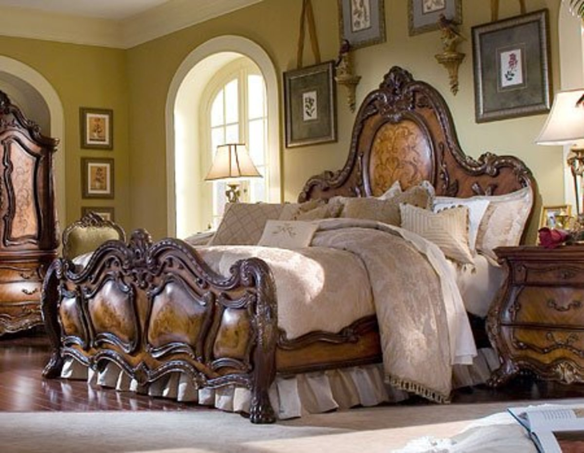 Chateau Beauvais Queen Panel Bed $2,425.00
