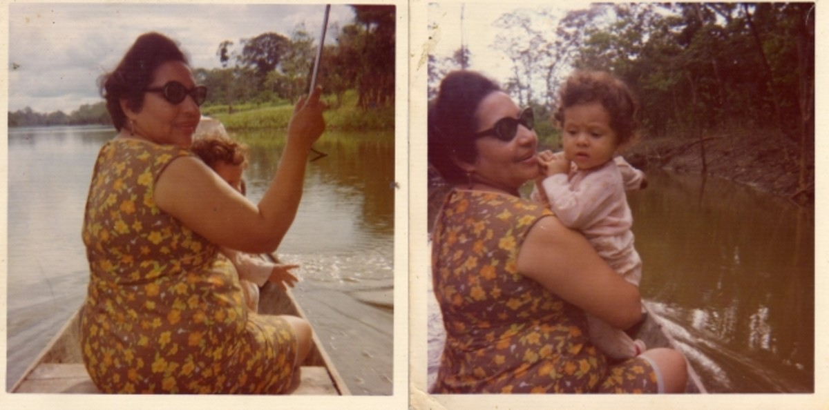 Sailing the Amazon with my grandmother