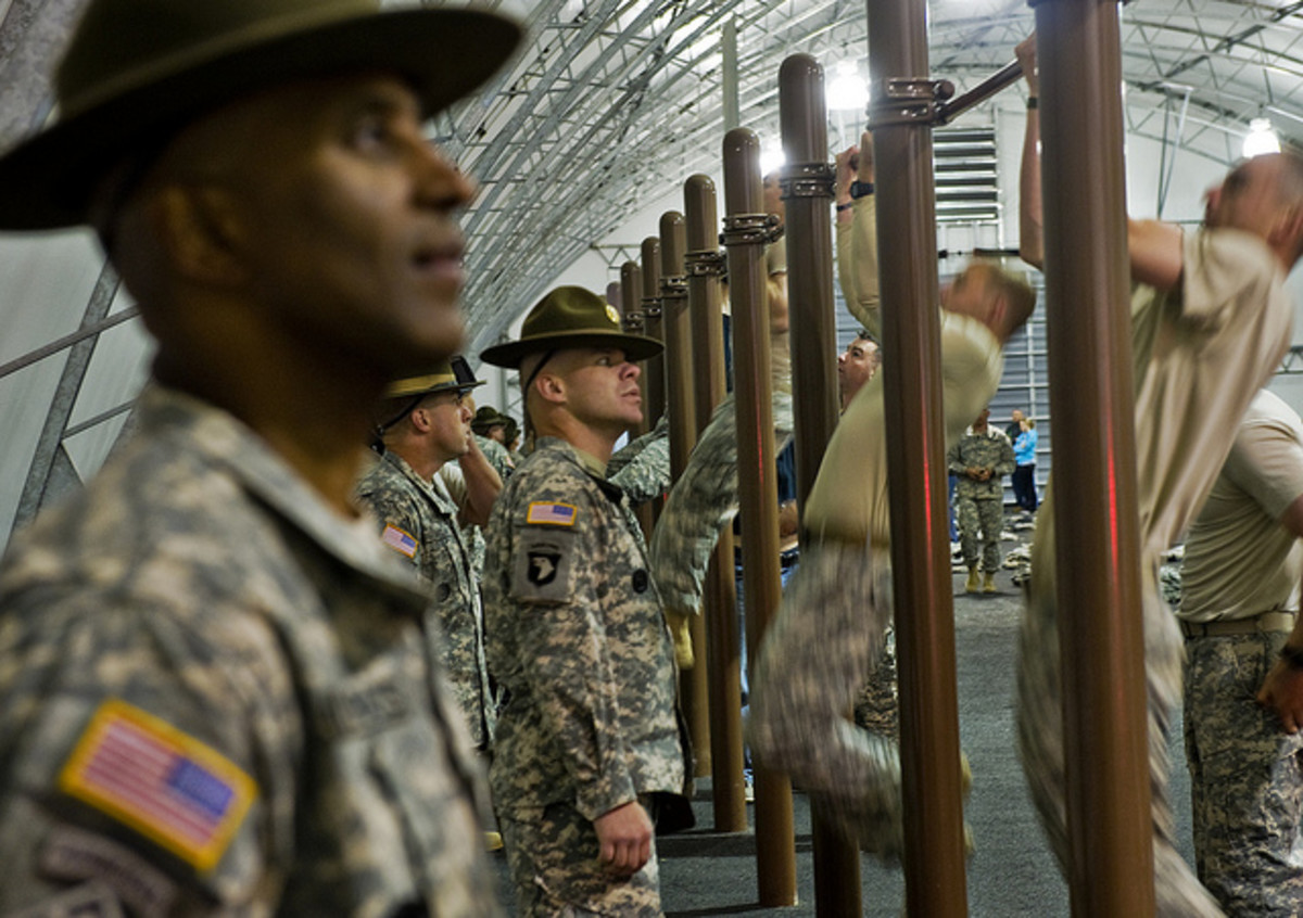 Don't let the drill sergeants get to you.