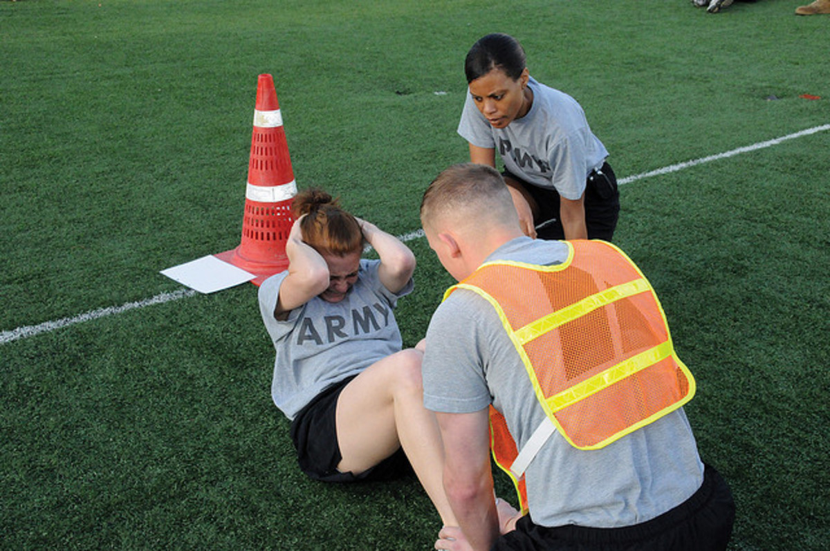 If you begin to work out before entering Boot Camp, it will be much easier.
