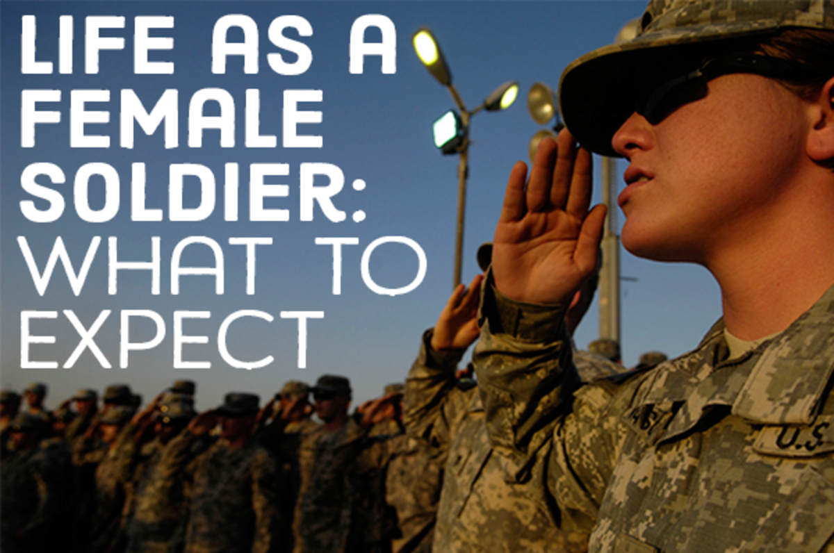 Life as a female soldier: what to expect