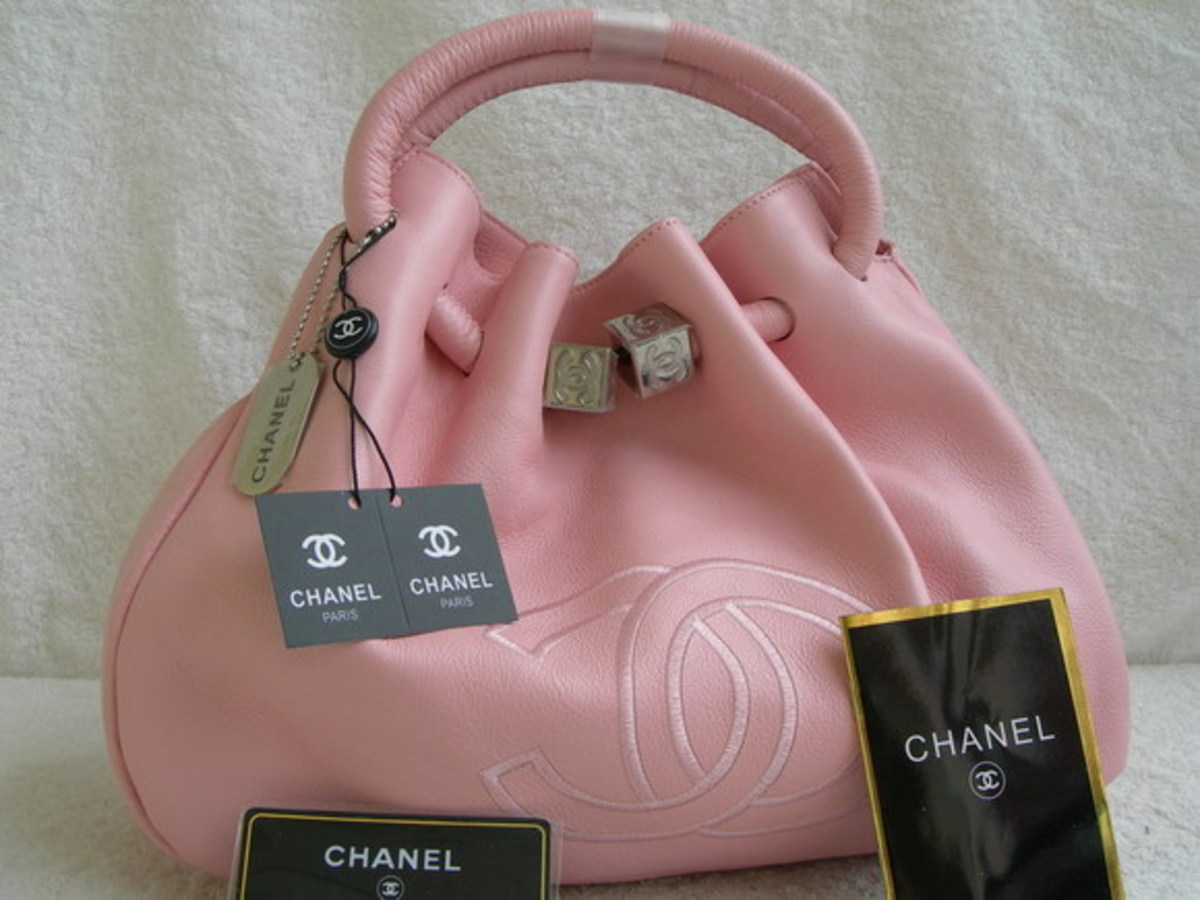 Pink Chanel Handbags and Purses