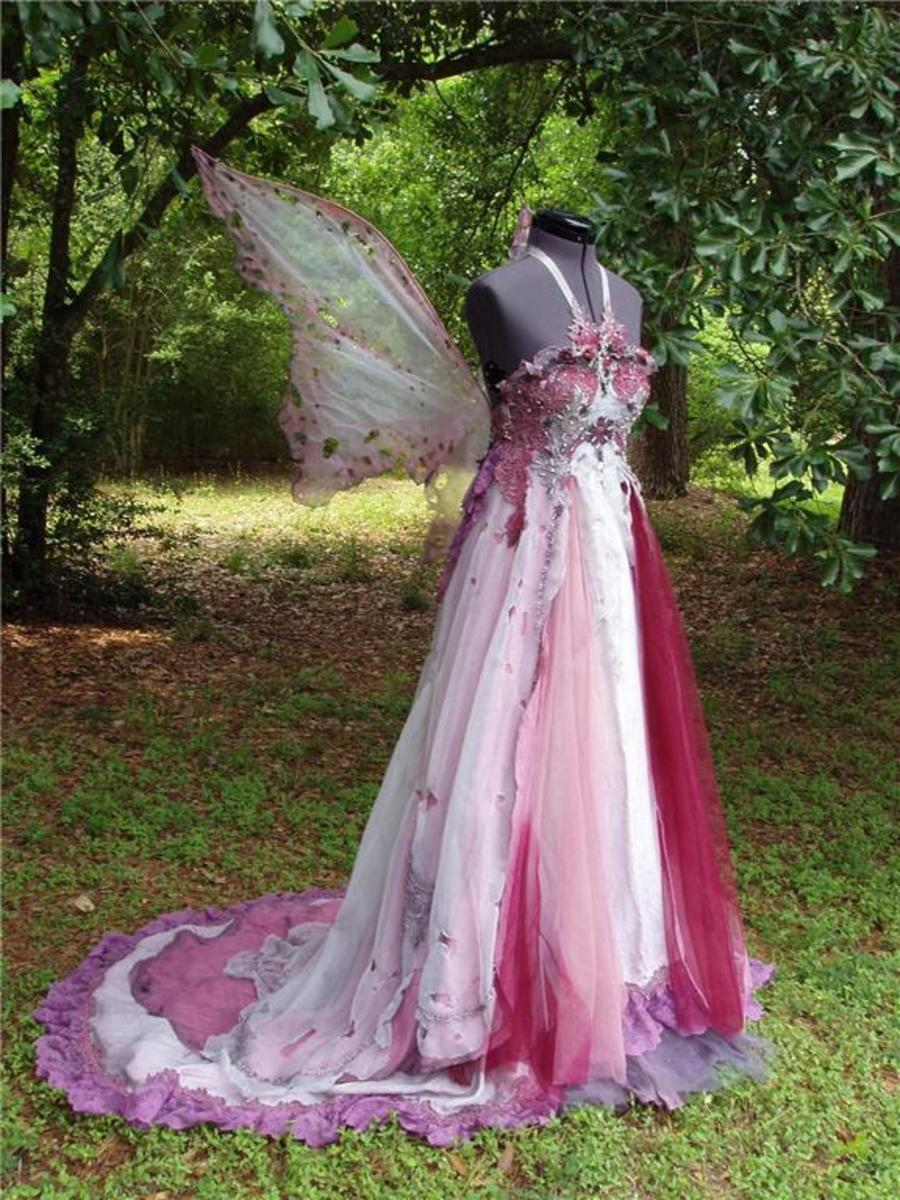 fairy wedding dresses