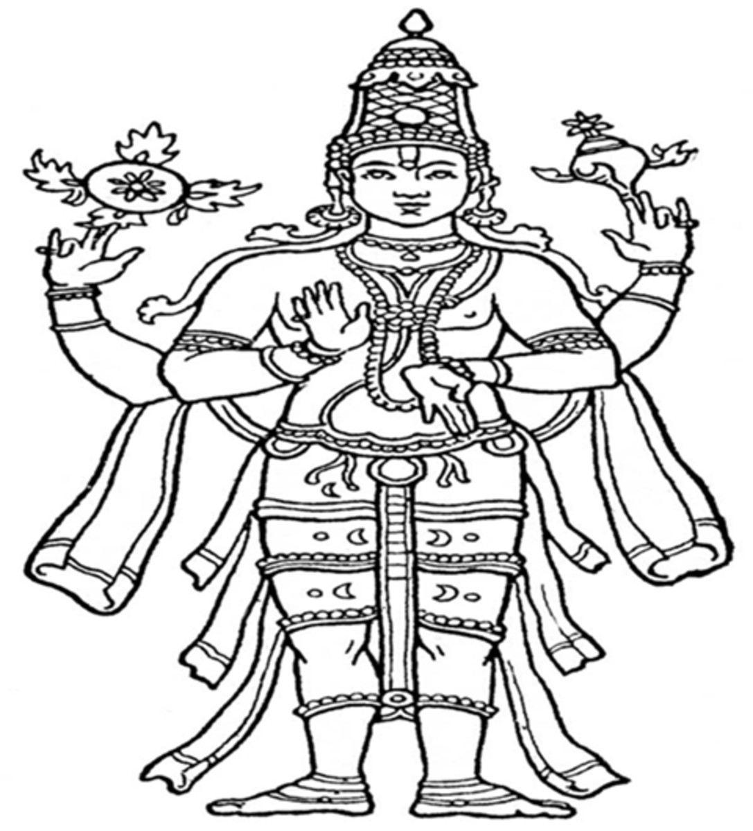 Mantras of Lord Maha Vishnu - The Preserver of the Universe