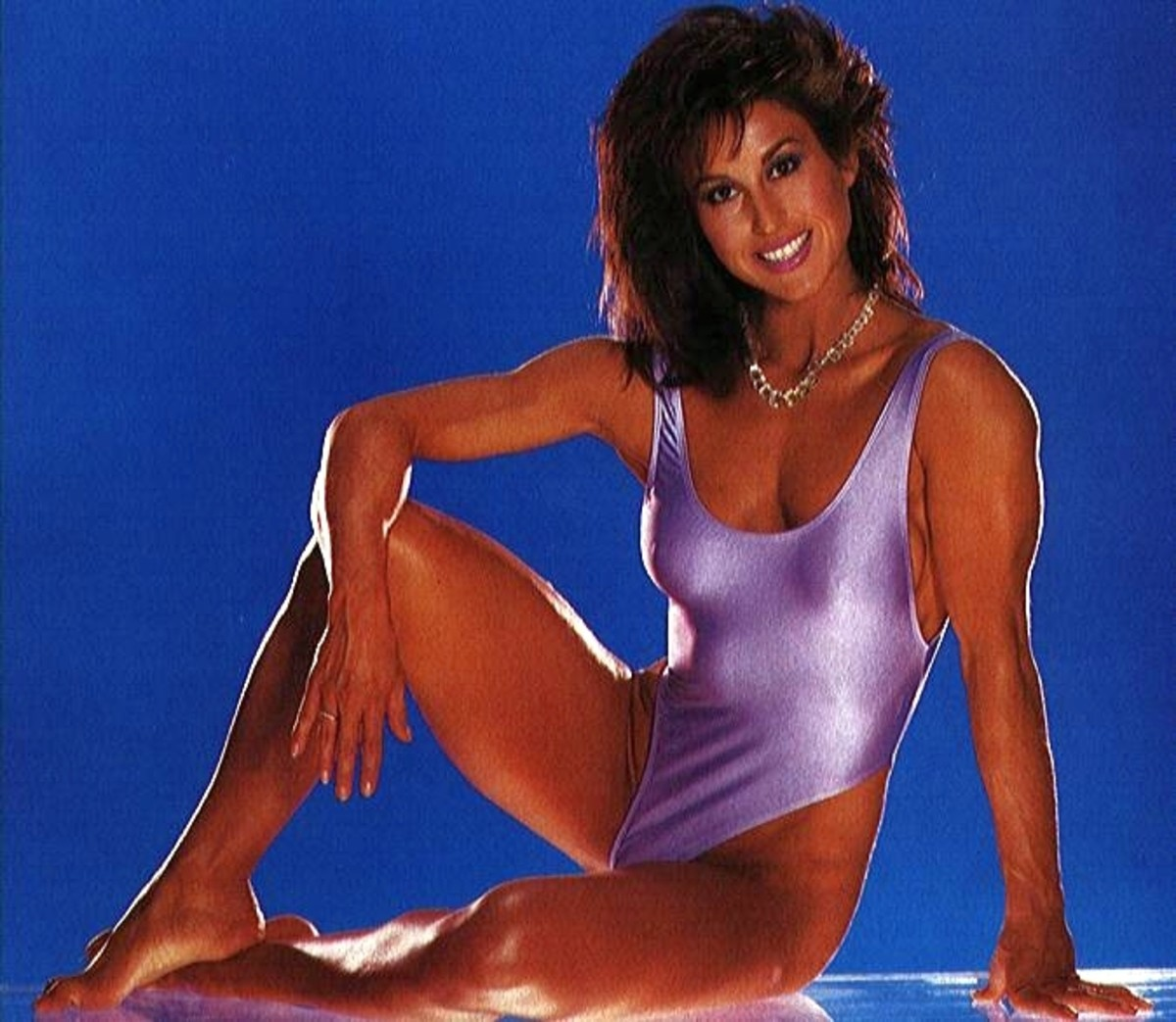 Yes...In the beginning, this is what a female bodybuilder looked like.