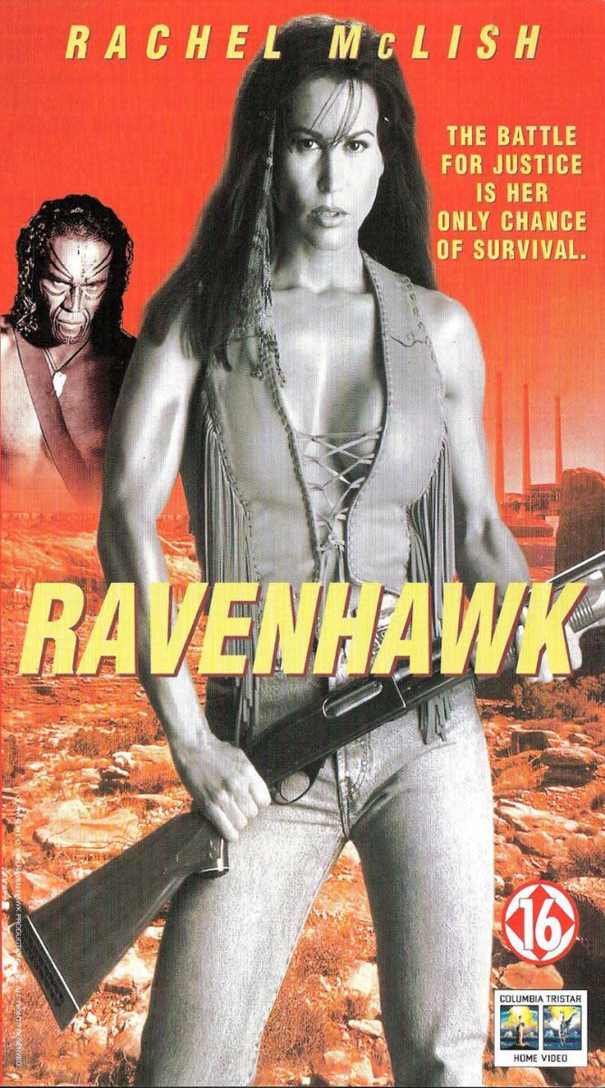 Rachel McLish in Raven Hawk (1996)