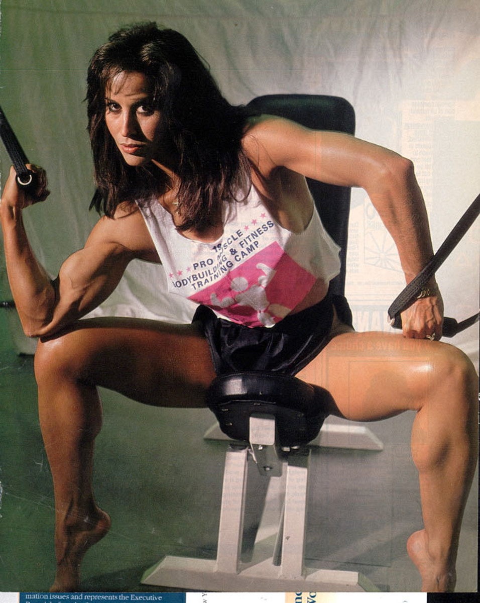 Rachel McLish-The Very First IFBB Ms. Olympia