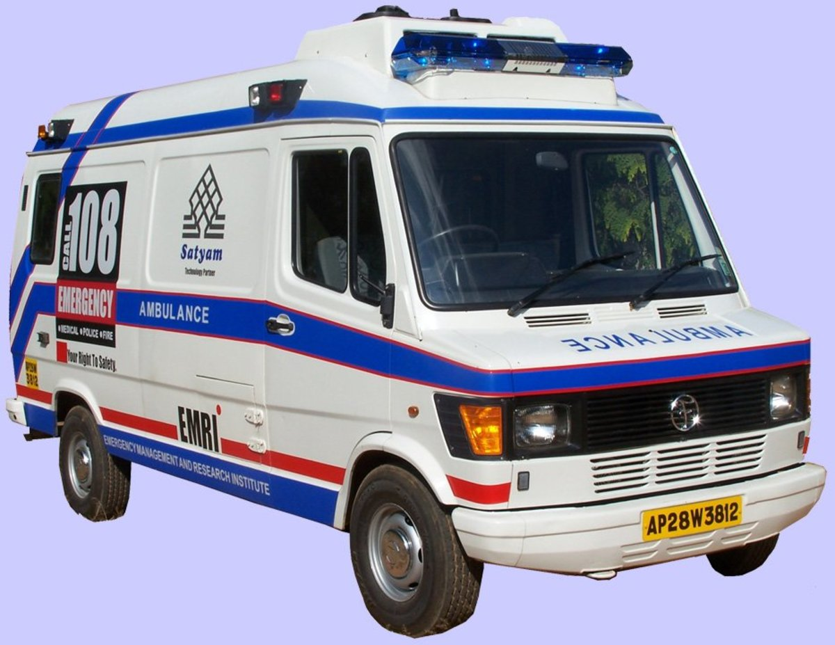 DO U KNOW WHY AMBULANCE SERVICE IS 108