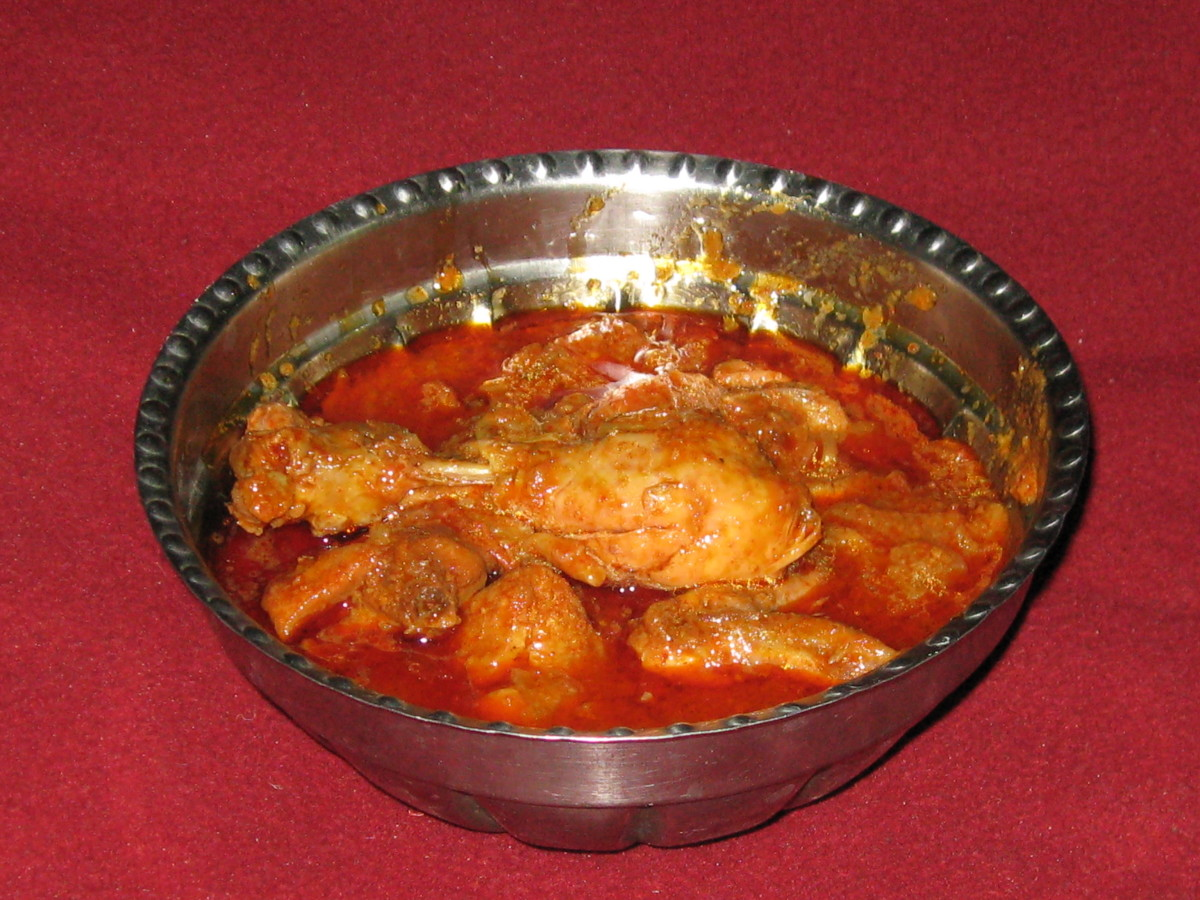 Savji Red Chilli Chicken In Linseed Oil