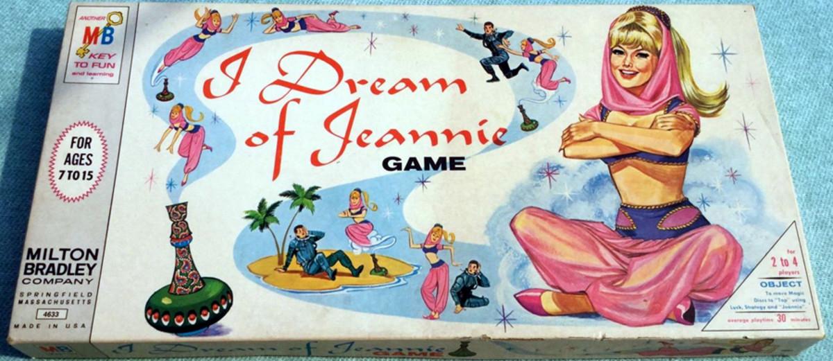 I Dream of Jeannie board game