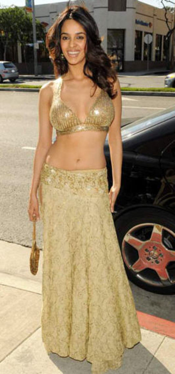 Mallika Sherawat's navel