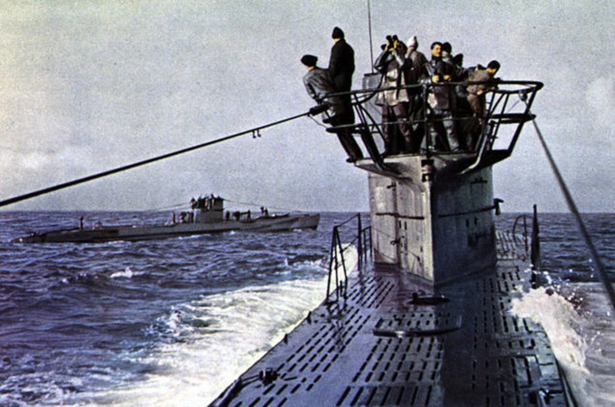 Operation Drumbeat: German Nazi U-boats Off the American Coast, 1942