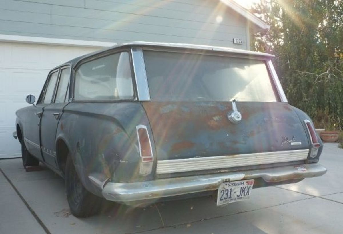 1964 Plymouth Valiant Wagon