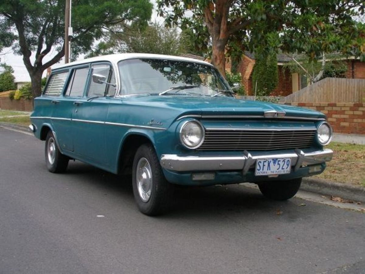 1962 Holden Special Station Wagon