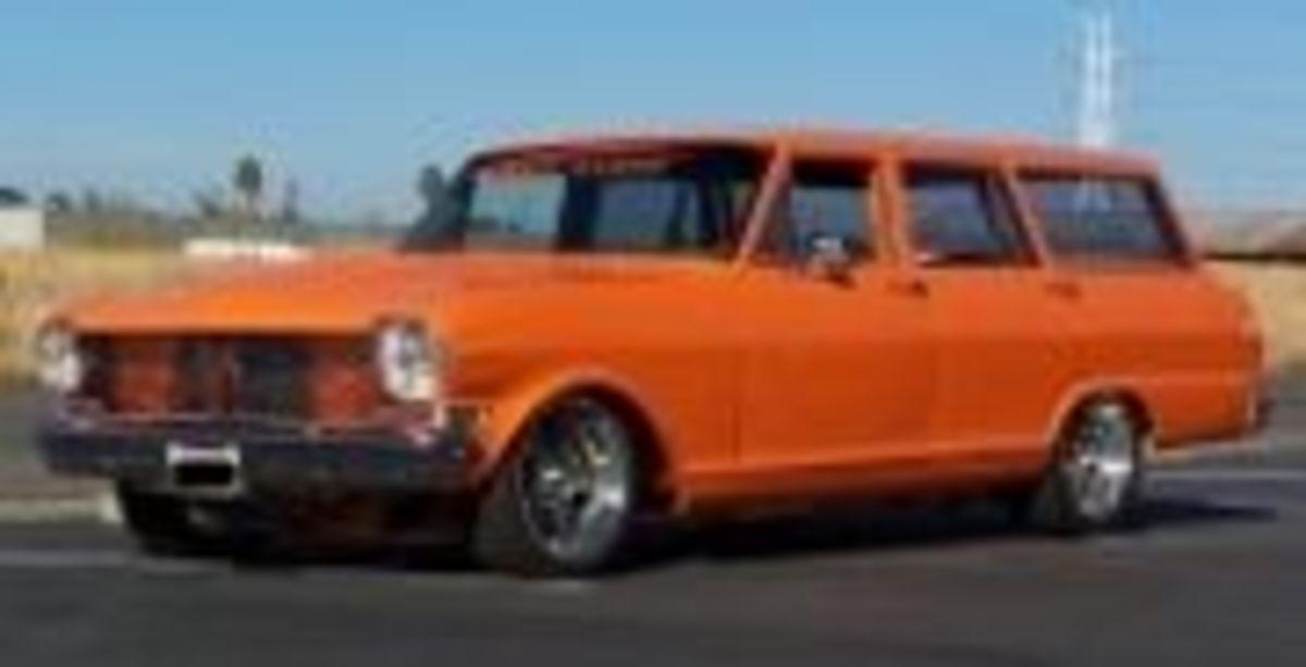 1962 Chevy Nova Station Wagon