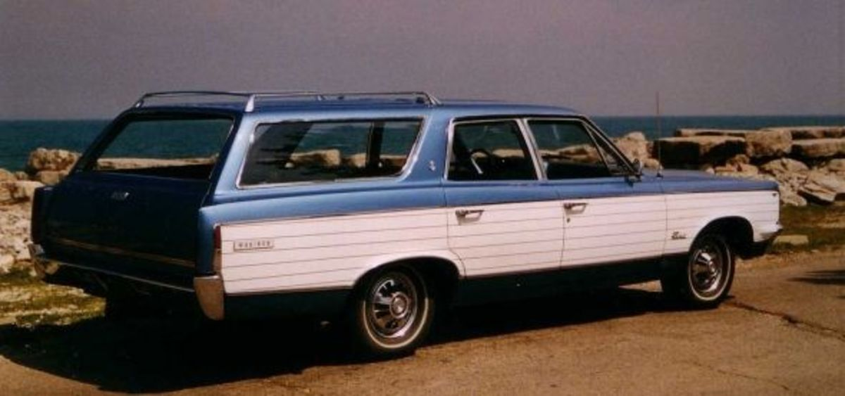 1967 AMC Rambler Rebel Station Wagon