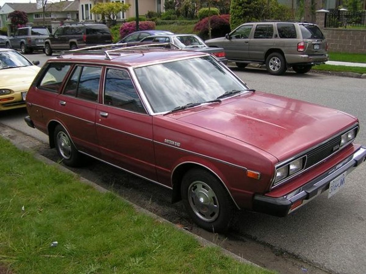 1980 (1981?) Datsun 510 Station Wagon