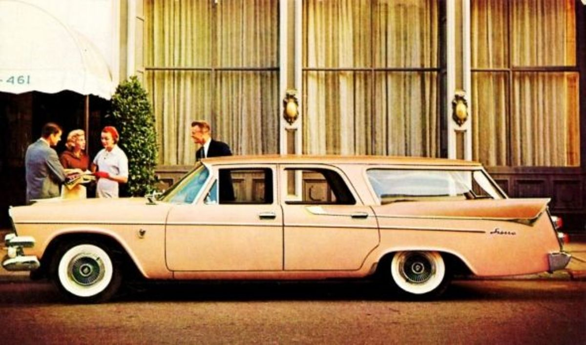 1958 Dodge Custom Sierra station wagon