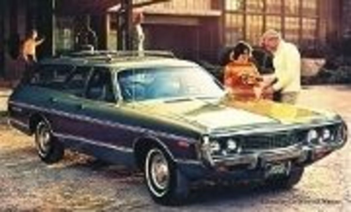 73 Dodge Crestwood Station Wagon