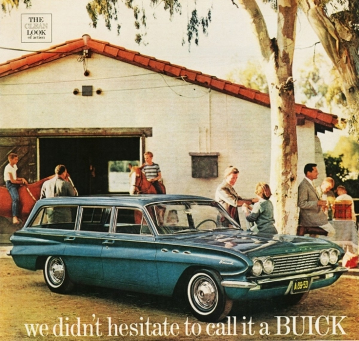 1961 Buick Special Station Wagon Ad